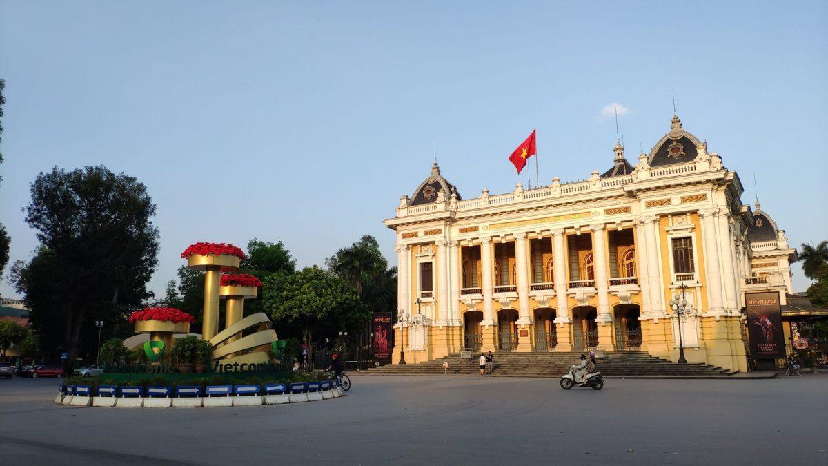 Ópera de Hanoi en el French Quarter