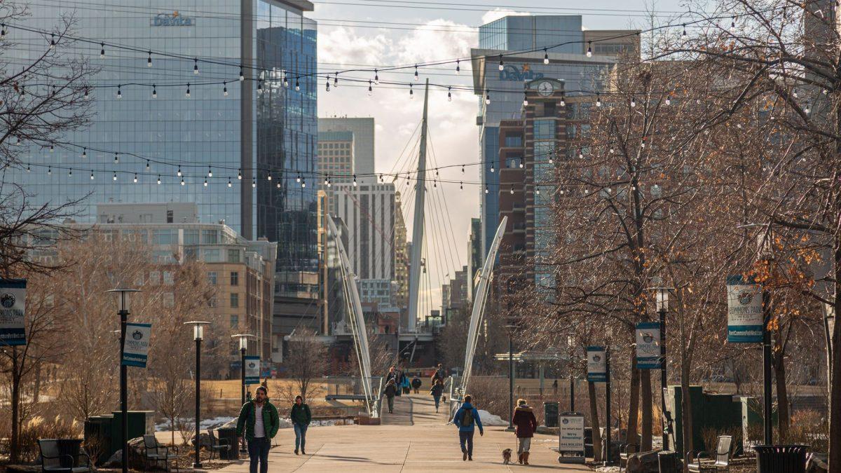 Barrio LoDo (Lower Downtown) en Denver