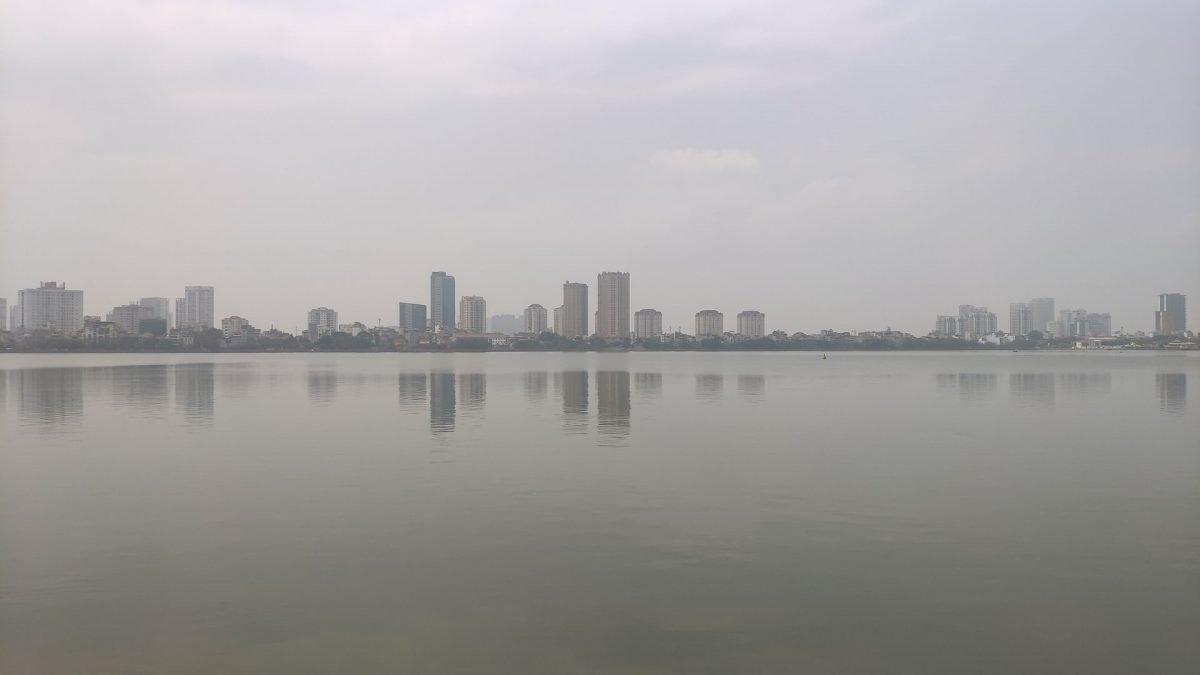 Lago Tay Ho en Hanoi