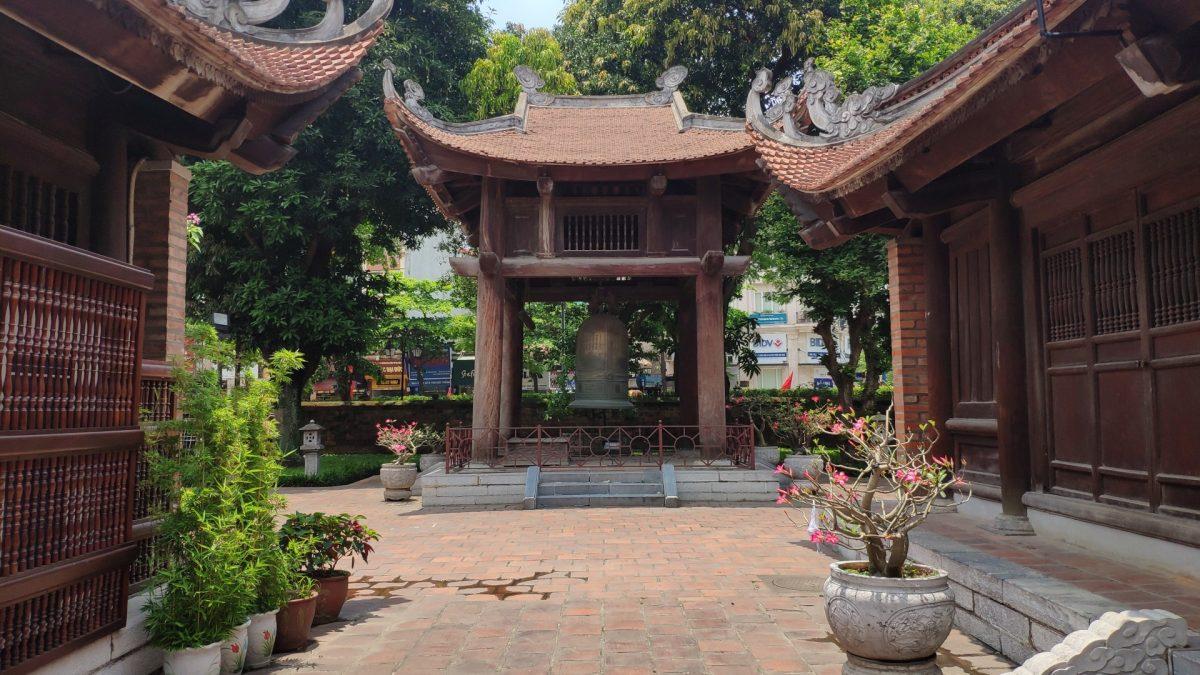 Casa de la Campana en el Templo de la Literatura
