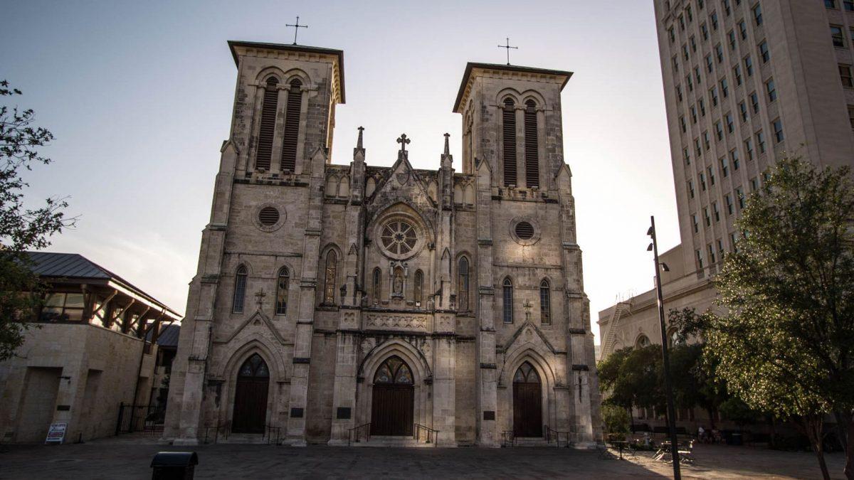 Catedral de San Fernando en San Antonio