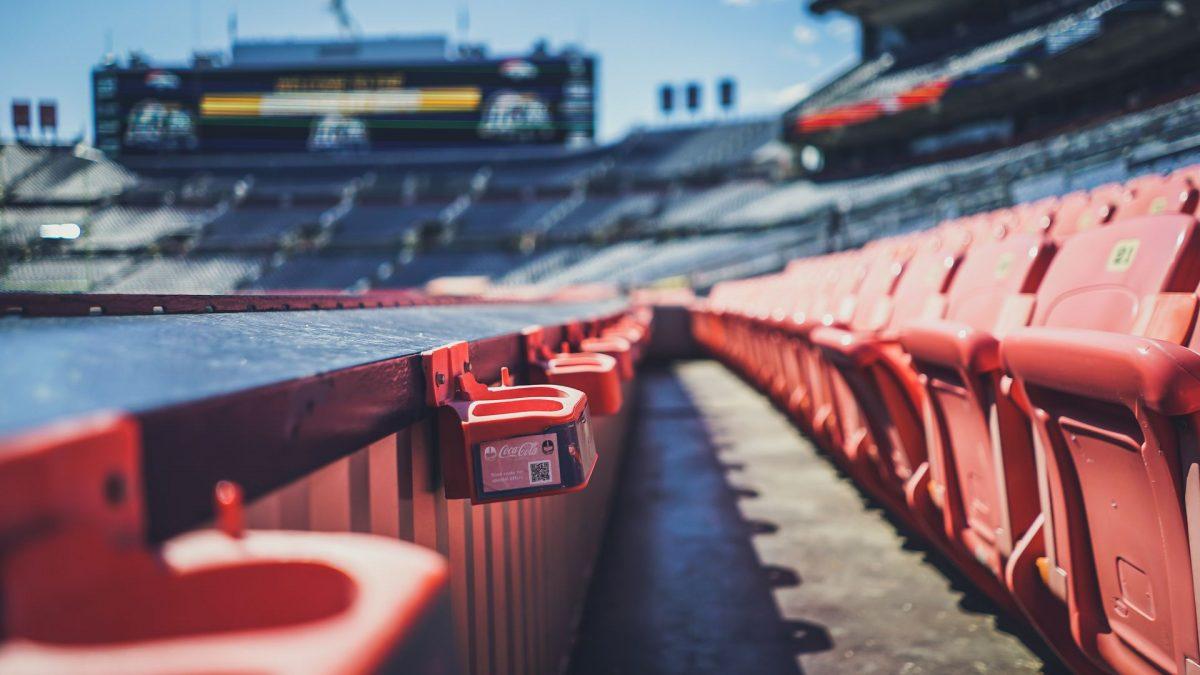 Graderías del Broncos Stadium en Denver