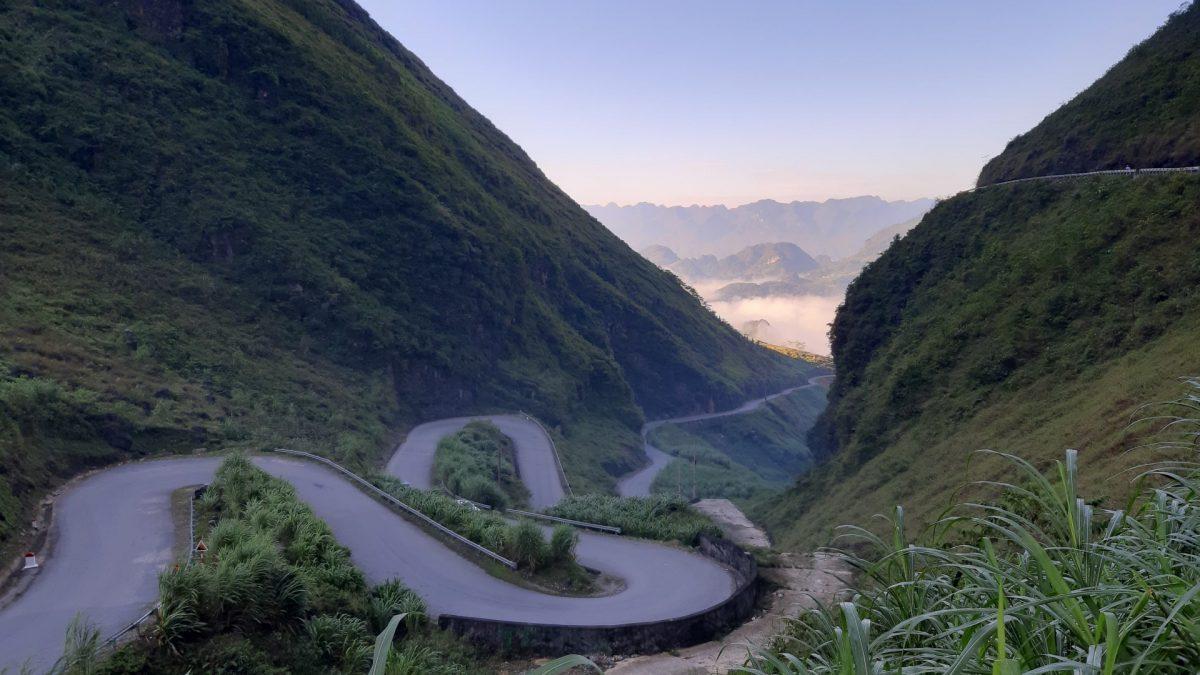 Las famosas curvas de Hà Giang Loop