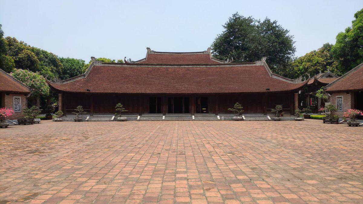 Academia Imperial (Đại Thành Môn) dentro del complejo del Templo de la Literatura