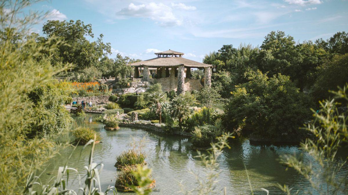 Japanese Tea Garden en San Antonio