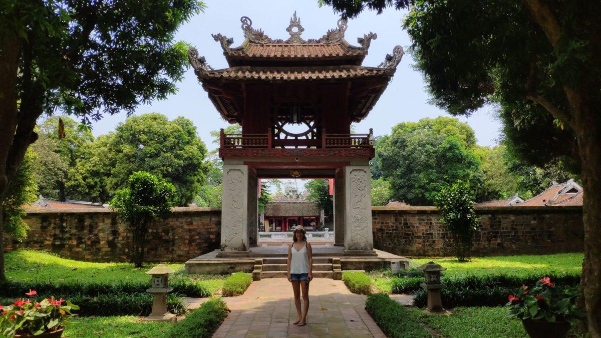 Pabellón Khue Van en el Templo de la Literatura
