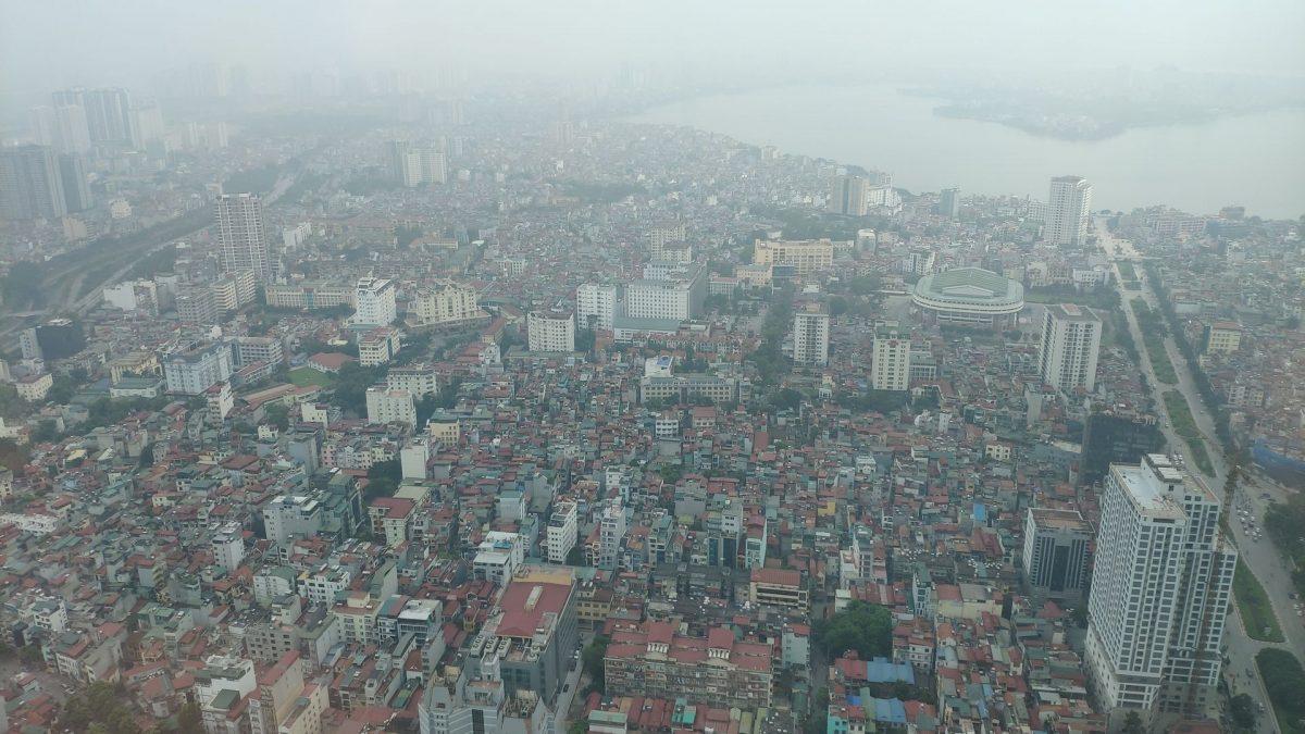 Vista panorámica sobre Hanoi
