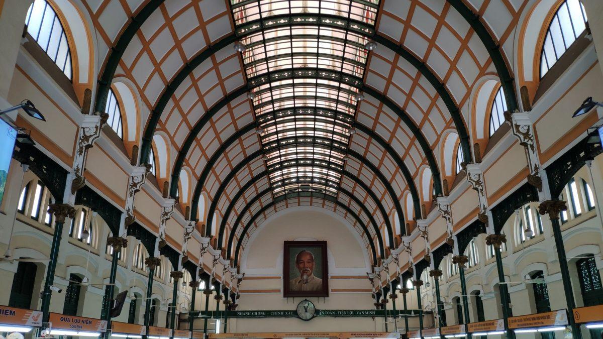 Edificio de Correos de Ho Chi Minh