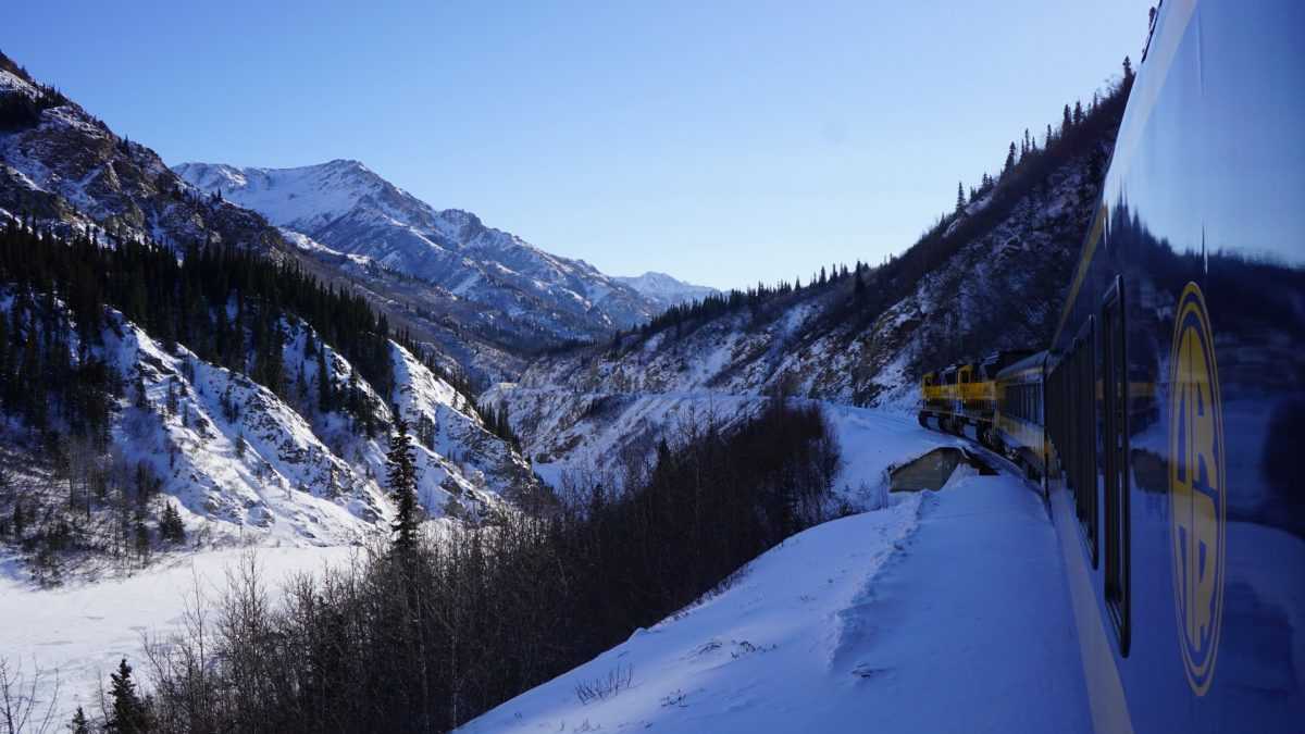 Ferrocarril en Alaska