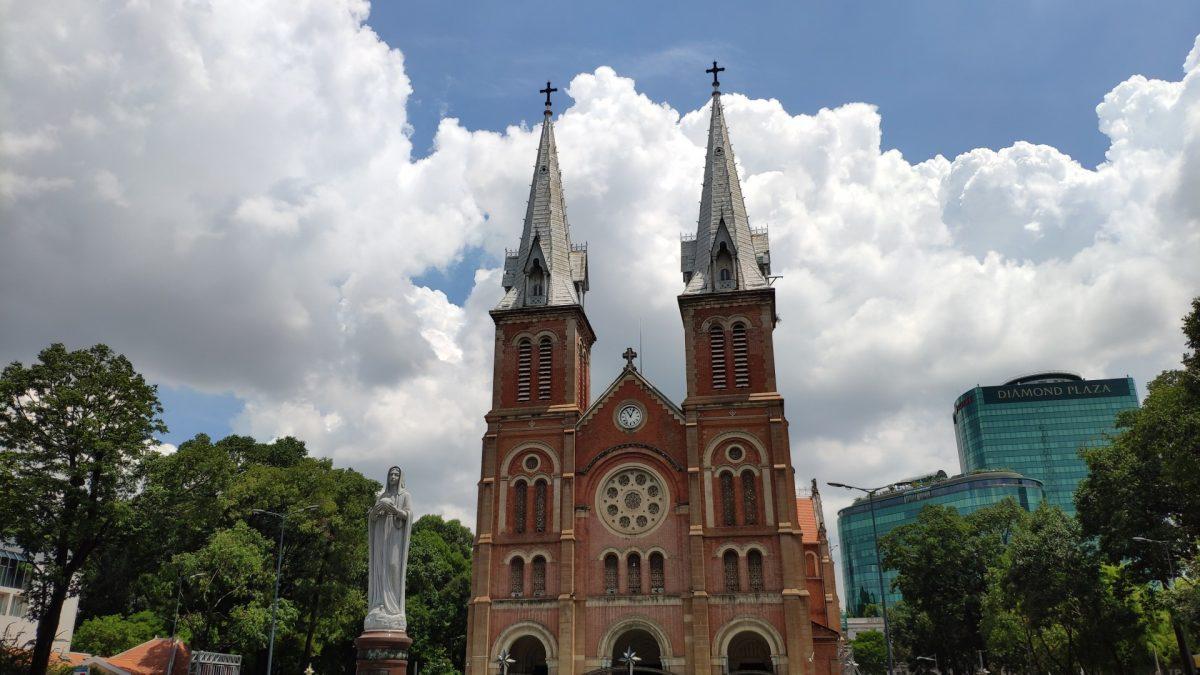 Iglesia Notre Damme de Saigón
