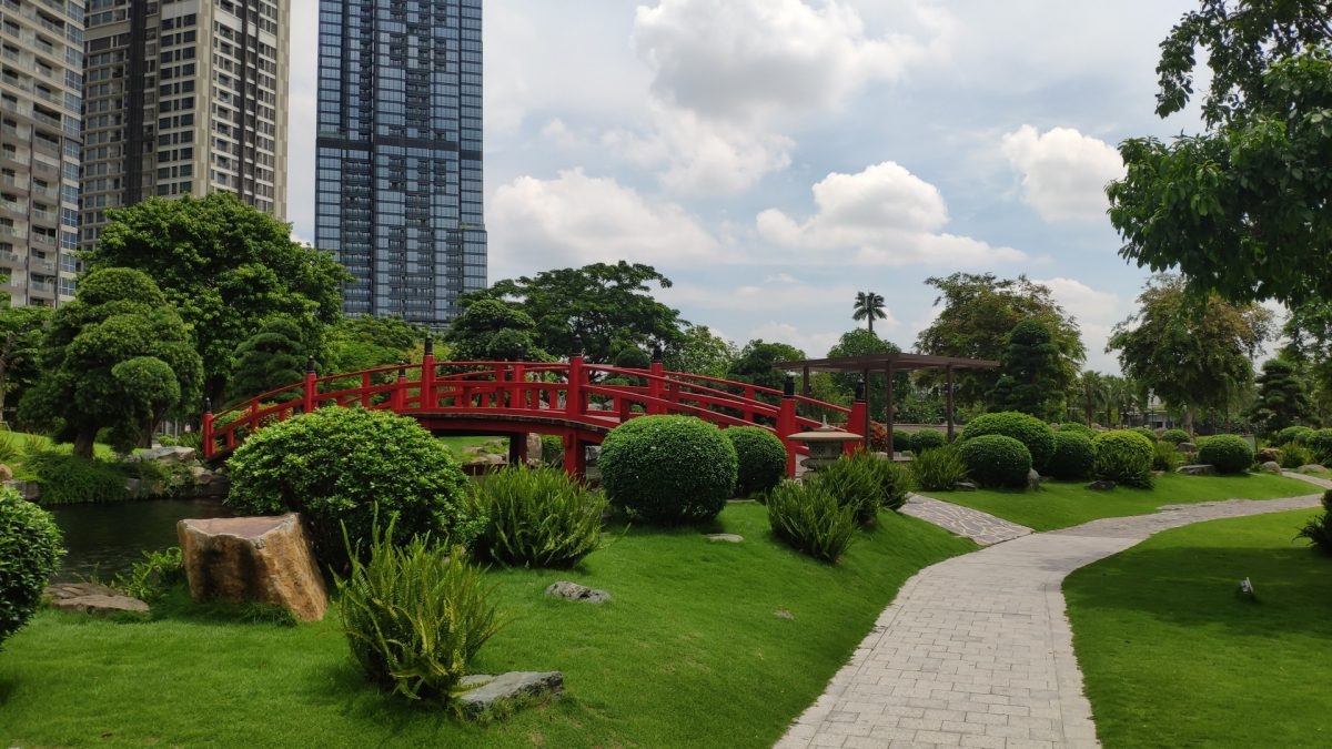 Japanese Garden on Vinhomes Central Park
