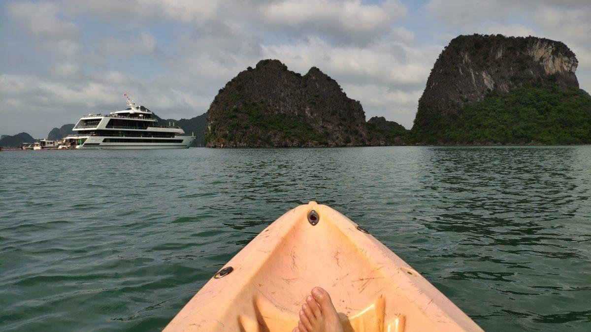 Kayak por la Bahía de Lan Ha