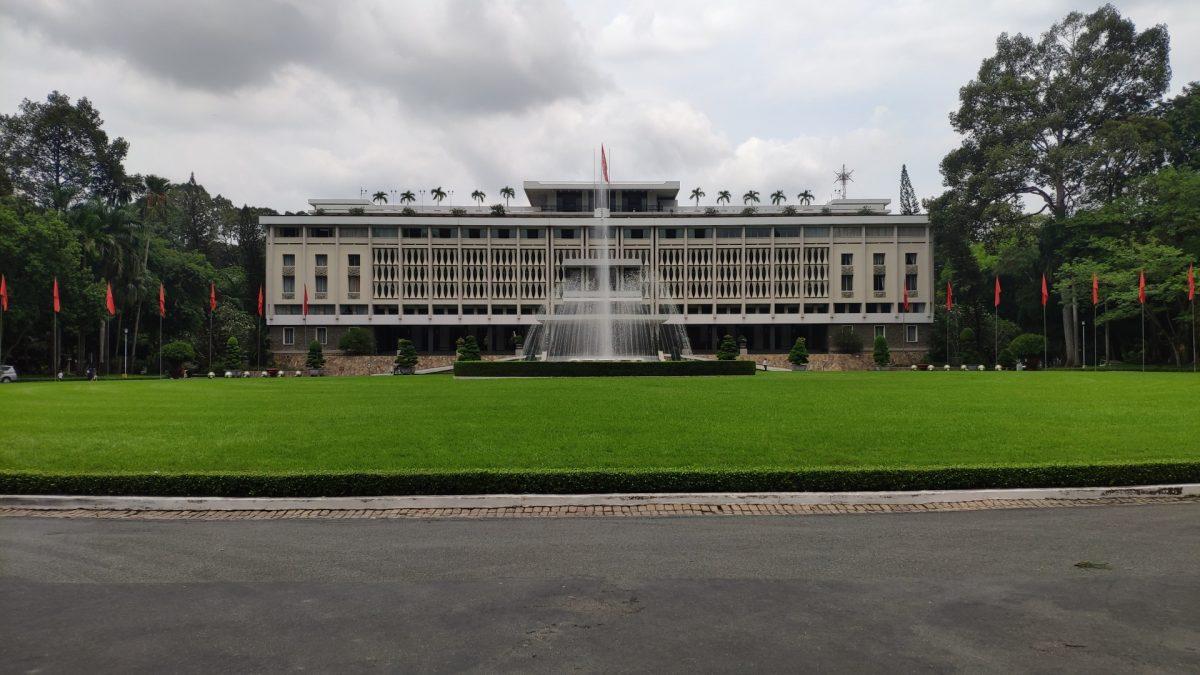 Palacio de la Reunificación en Saigon