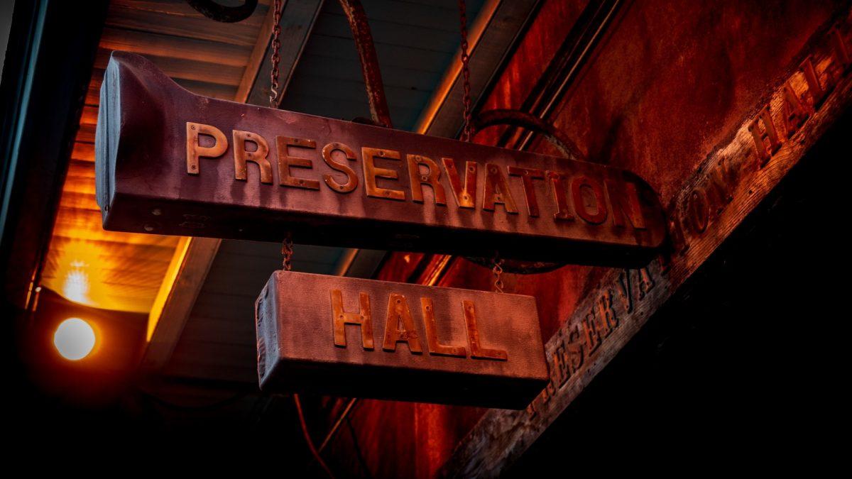 Preservation Hall, local de jazz en Nueva Orleans