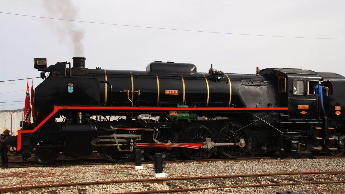 Museo del Ferrocarril de Galicia en Monforte de Lemos