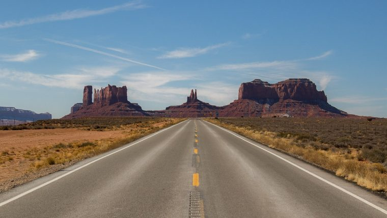Ruta Costa Oeste Estados Unidos