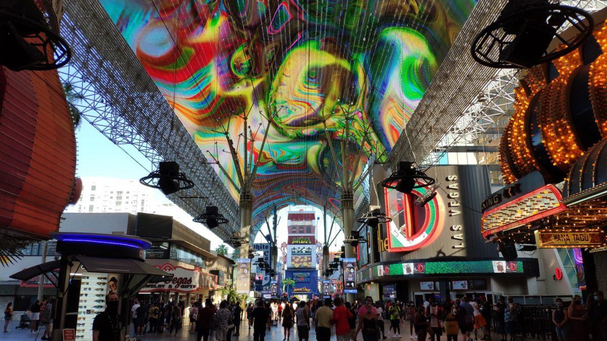 Freemont Experience, en Downtown Las Vegas