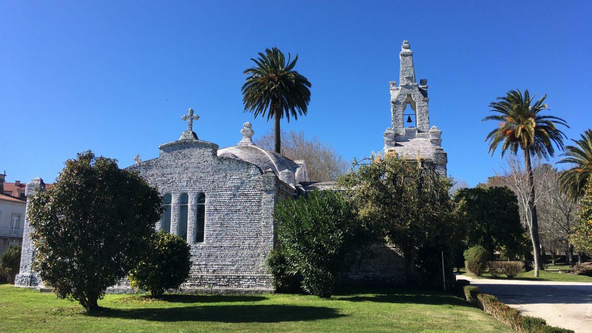 Ermita de San Campio e San Sebastián en la Isla de la Toja