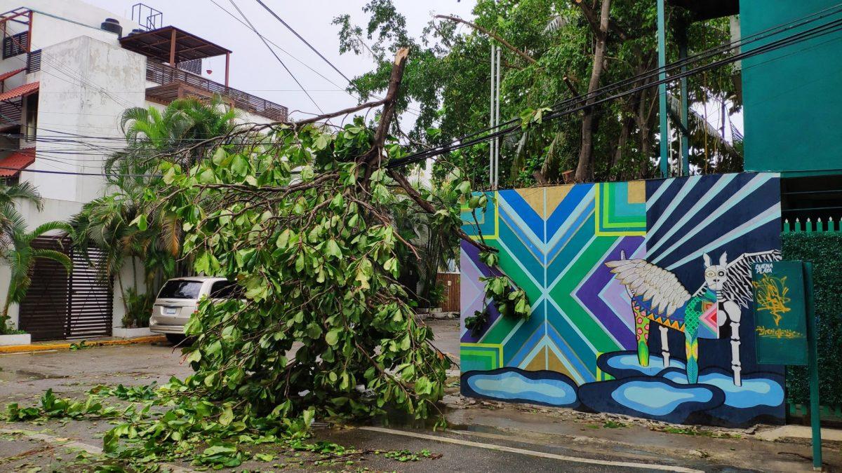 Consecuencias de un huracán