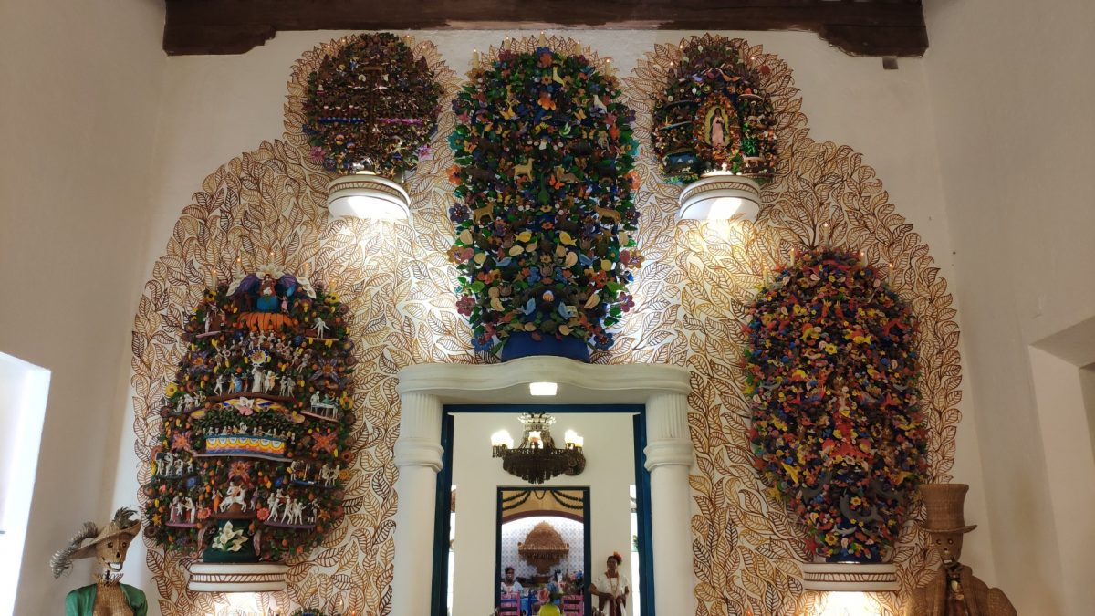Museo de Arte Popular Mexicano en Xcaret