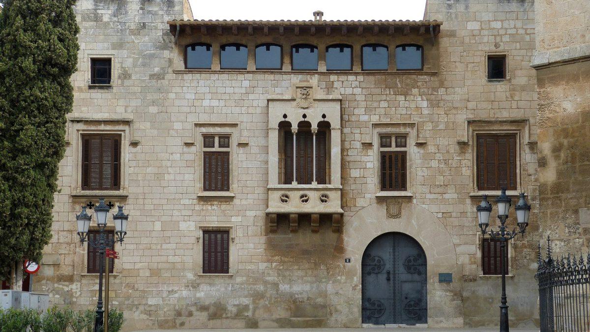 Palau Baltà en Vilafranca del Penedès
