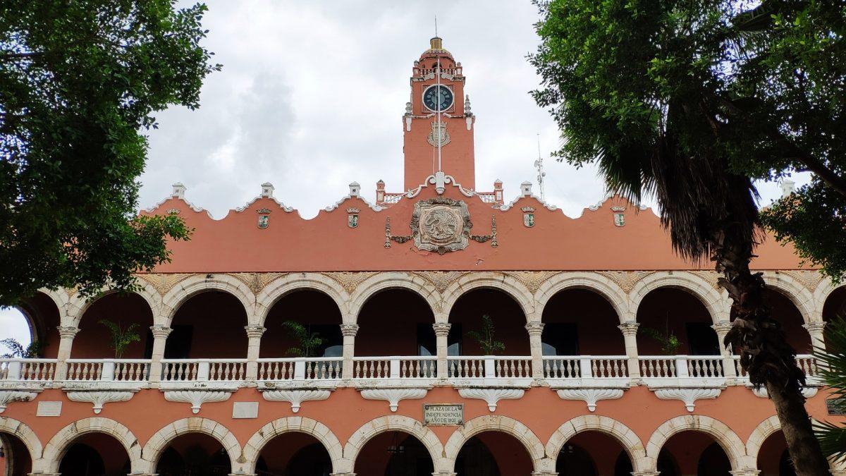 Fachada del Ayuntamiento de Mérida