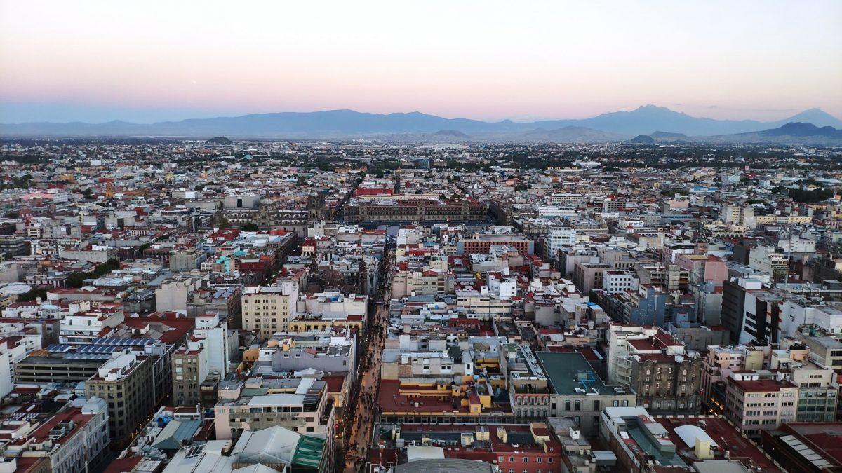 Vistas de la Ciudad de México