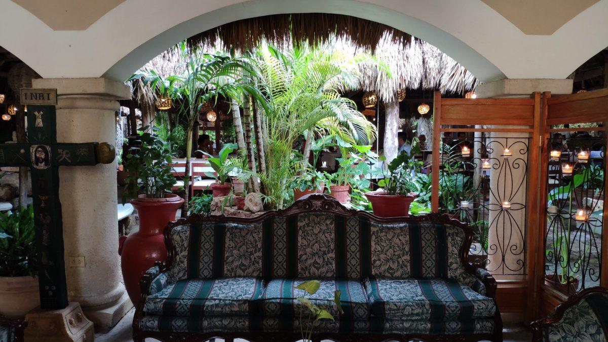 Interior restaurante Kinich