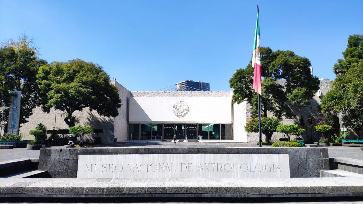 Exterior del Museo de Antropología de la CDMX