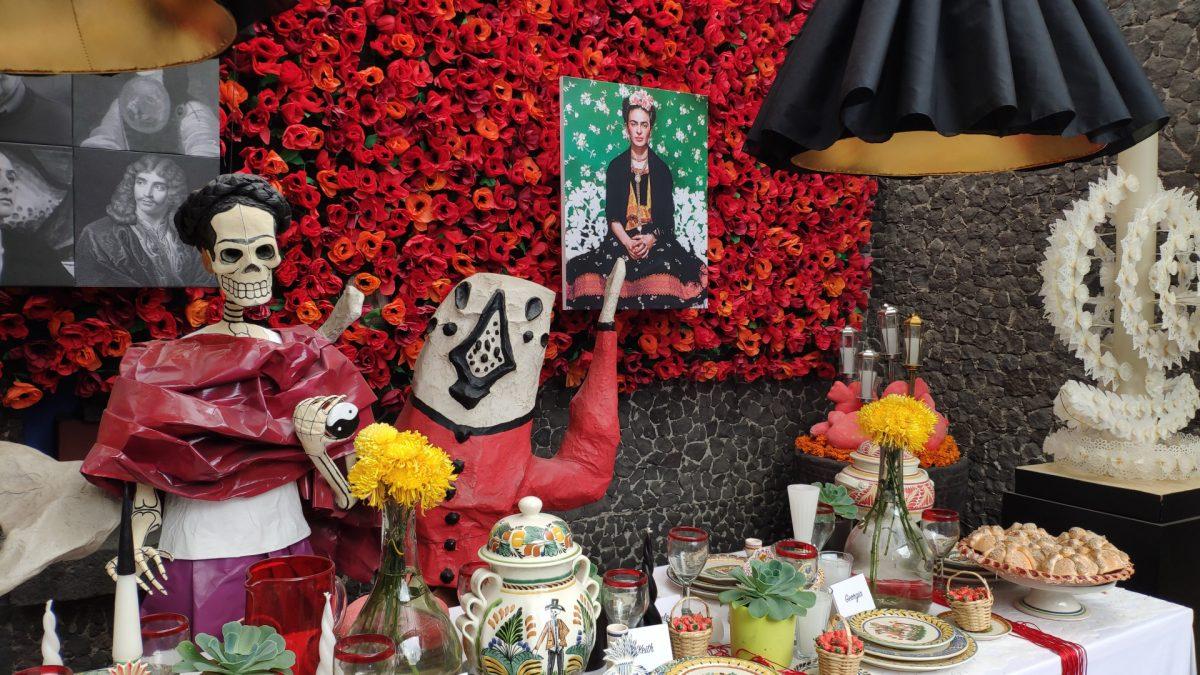 Instalación artística en el Museo de Frida Khalo