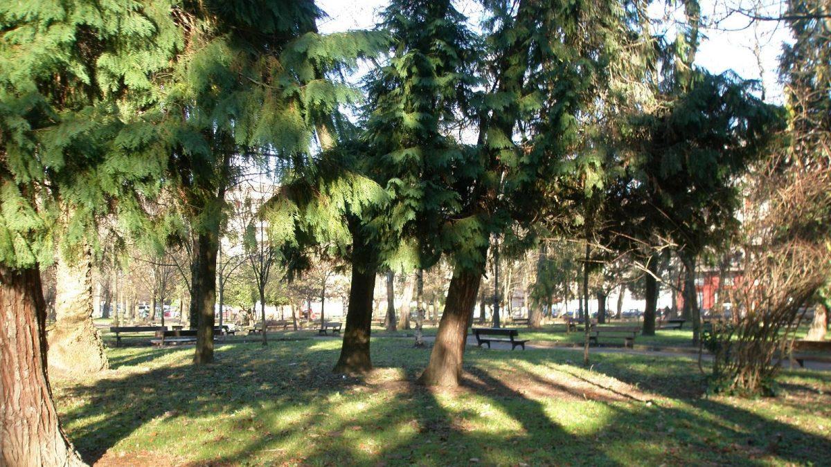 Parque Manuel Barquín en Torrelavega
