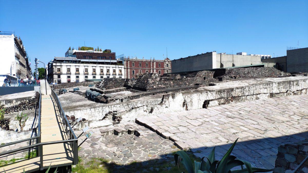 Ruinas del Templo Mayor