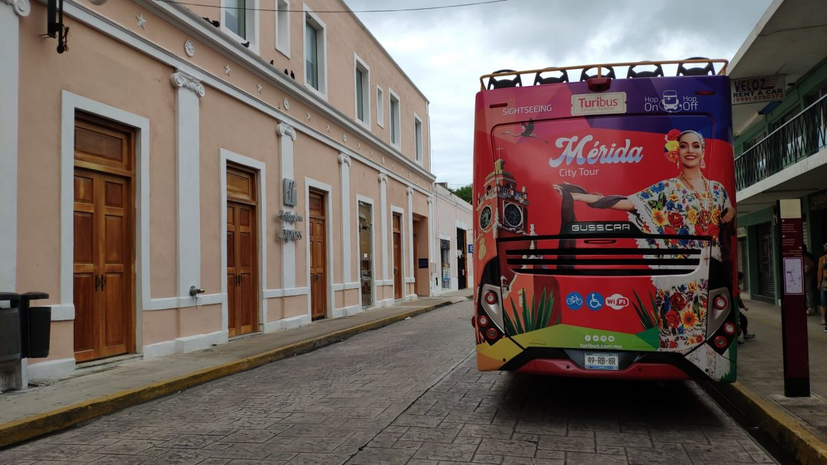 Autobús turístico Turibús de Mérida