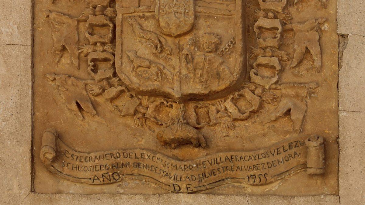 Escudo del Marqués de Villafranca