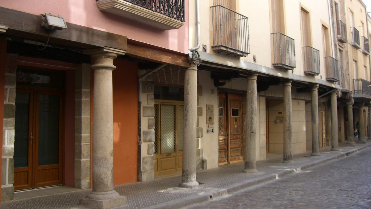 Carrer Major de Cervera