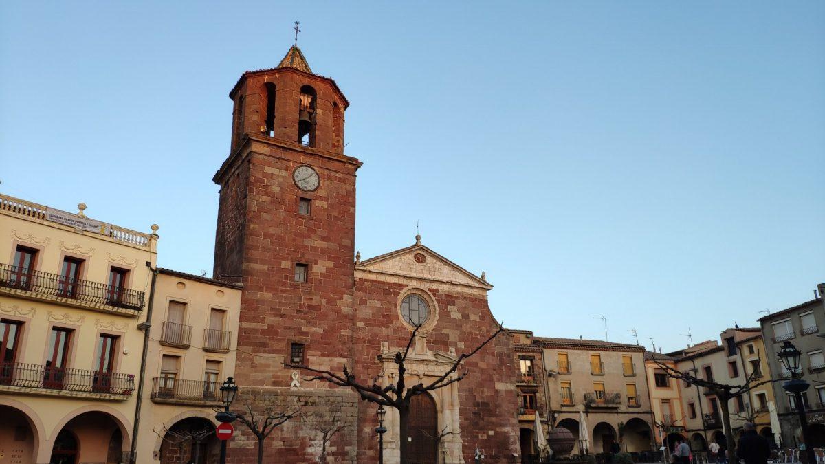 Iglesia de Santa María en Prades
