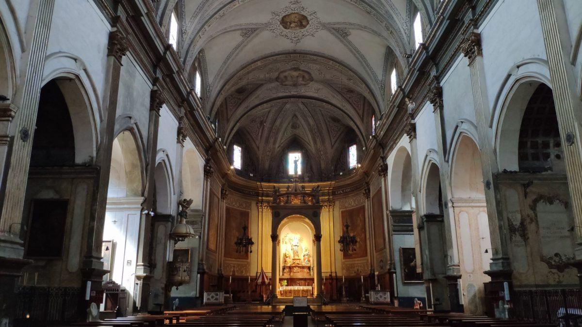 Interior Basílica de Santa María