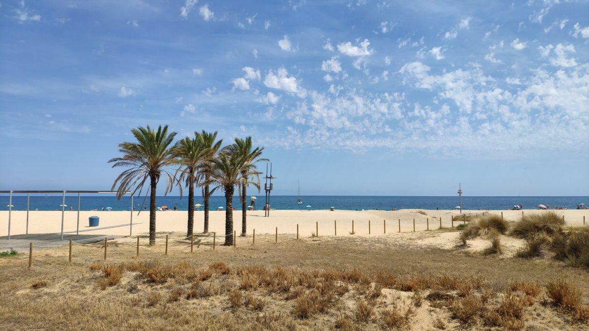Playa del Varador, un imprescindible que ver en Mataró