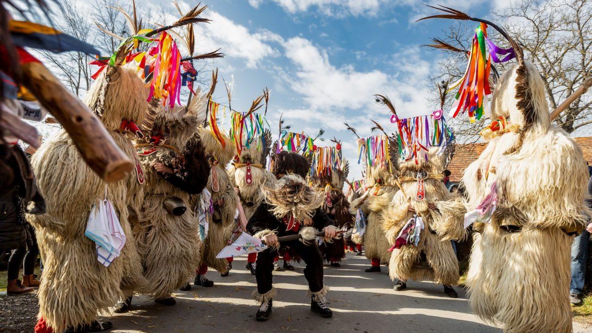 Kurent, el Carnaval de Ptuj