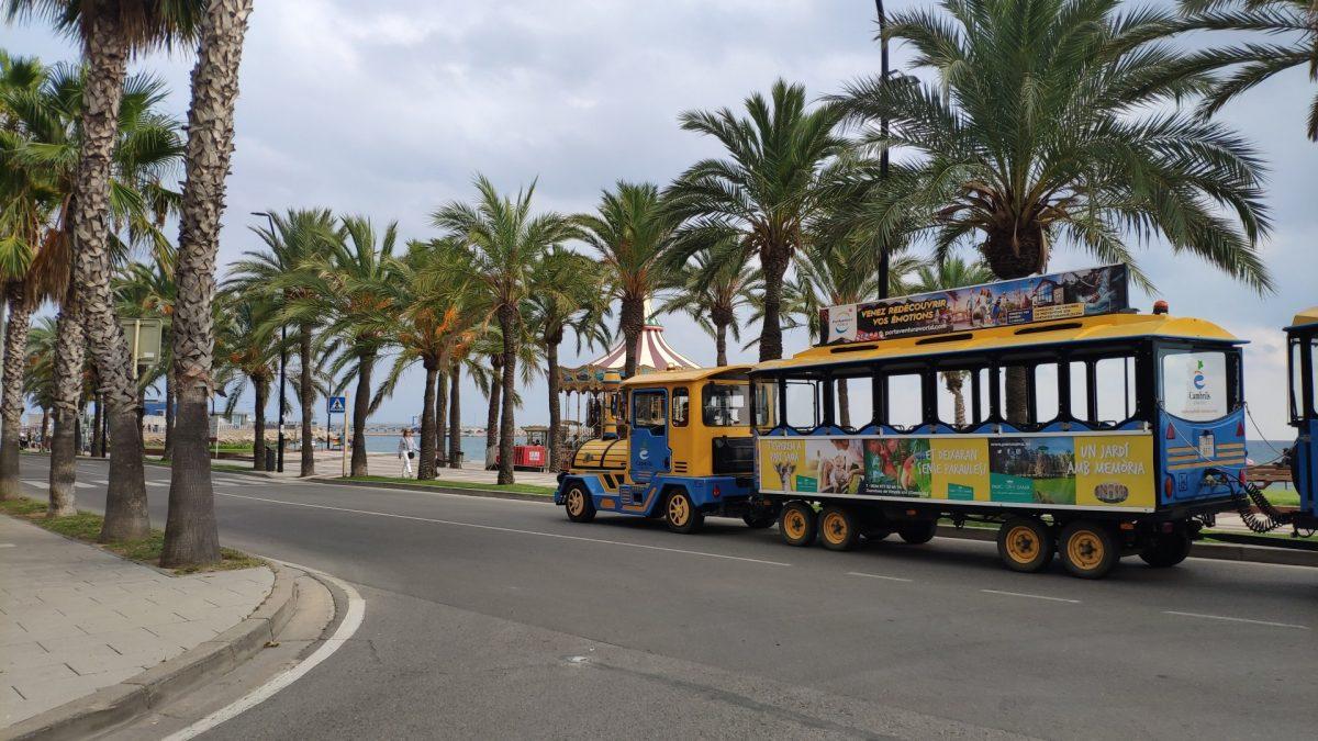 Tren turístico de Cambrils